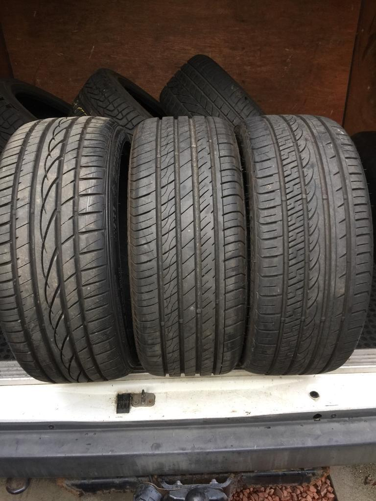 225 40 18 tyres 8mm tread FREE MOBILE FITTING