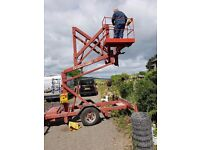 Towable Access Platform Cherry Picker