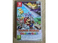 Paper Mario Origami King Switch Game