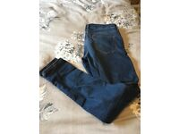Top shop Leigh maternity jeans blue