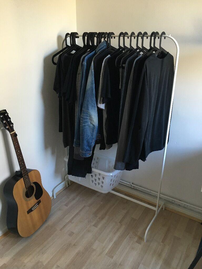 ikea mulig clothes rack white bagis hanger in outdoor black x28 blaska clothes basket. Black Bedroom Furniture Sets. Home Design Ideas