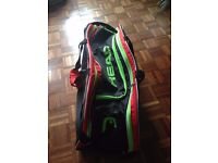 Head Elite Tennis Racket Bag (holds up to 6 rackets)