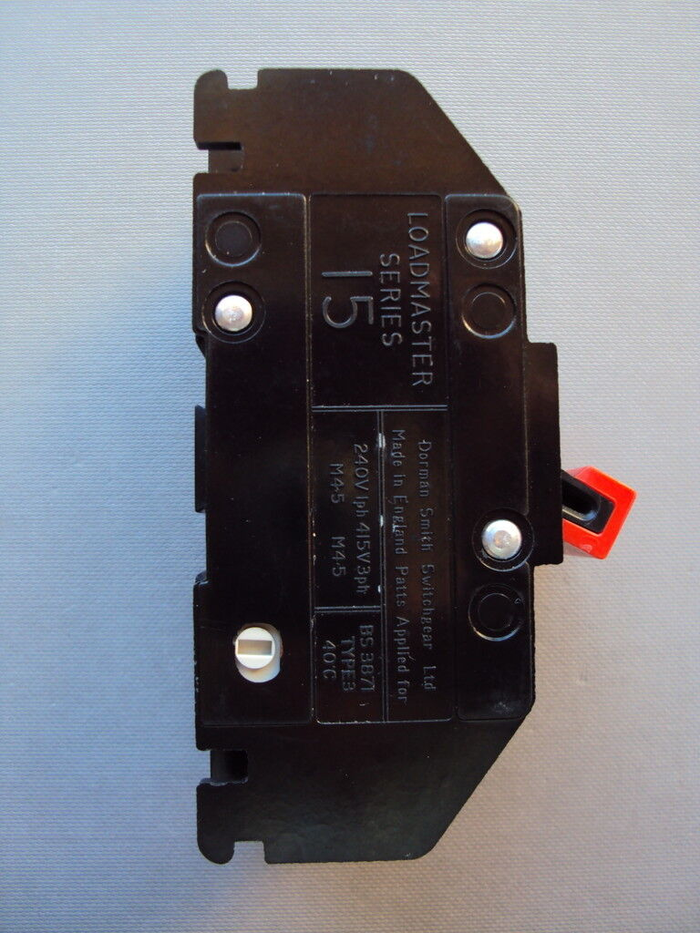 Dorman Smith Loadmaster Series 15 100 Amp M45 Bs3871 Type 3 Switch Fuse Box 2 Of 4 Isolator