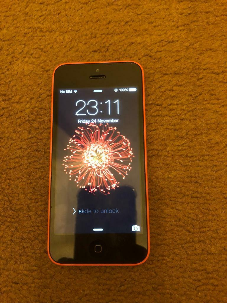 Iphone 5C - Pink
