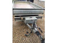 Trailer electric tipper heavy duty twin axle
