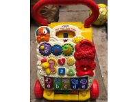 Vtech baby walker with songs and sounds
