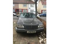 Mercedes-Benz S Class S300 4dr Auto Left Hand Drive, START DRIVE WELL, (spare or repairs)