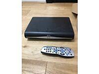 SKY HD Box, Remote & Cables DRX890