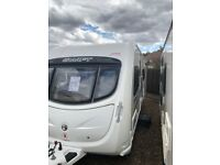 Swift challenger 540 2011 4 berth fixed bed