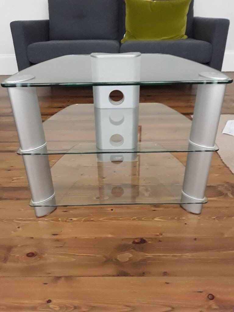 High Quality Glass Tv Stand In Beckenham London Gumtree # Table Tv Coin