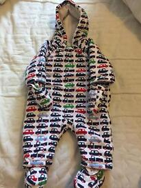 Snowsuit pram suit from mothercare 3-6 months