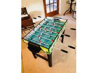 4 in 1 fussball, pool, table tennis, air hockey set