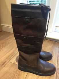Dubarry Galway SlimFit™ Womens Country Boot - Walnut Color Size 8 (42)