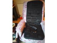 Naipo Portable Seat Cushion with Vibration and Heat - Model MGC-168: £40