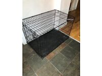 Medium size dog cage for sale - perfect condition!