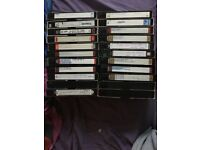 Job lot of vhs video cassette tapes x 55