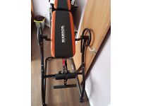 inversion table for sale in good condition for 70£