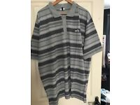 ELLESSE POLO,NEW WITH TAGS SIZE 2XL TALL,,,GREY