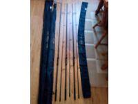 Shimano Alivio CX Carp Rods X3 With Spod and Marker Rods
