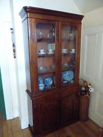 Vintage solid mahogany 1930s dresser