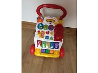 V tech baby walker, selling at £9 in good working order but the phone is missing