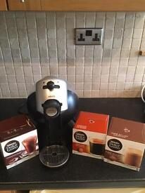 Nestle dolce gusto Krups machine with sachets