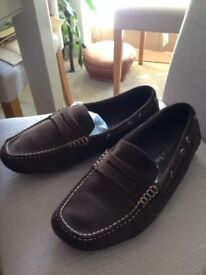 Orca Bay Dark Brown Suede Leather Shoe. UK Size 9 (EU 42)