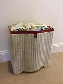 Upcycled Vintage Lloyd Loom Blanket Box