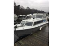 23ft Cleopatra cabin cruiser (project) for sale