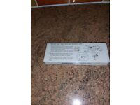 Knitting machine instructions book and punch cards