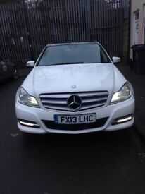 CHEAPEST MERCEDES C220 WHITE PAN ROOF