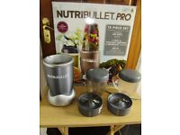 Nutribullet 900, 7 piece, good working order