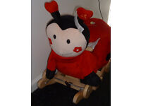 BRAND NEW WITH TAGS. LADYBIRD ROCKER/PUSH ALONG TOY
