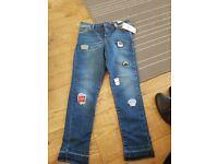 Girls next skinny jeans age 8