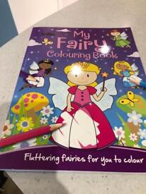 My fairy colouring book