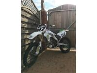 Kawasaki Kxf 250 dirt bike motocross