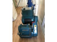 kuzle and basin floor sanding machine