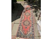 2 x Carpets/Rugs - 3m x 0.78m. Handmade from Istanbul. Classic