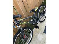 Apollo creed junior mountain bike 24inch wheels