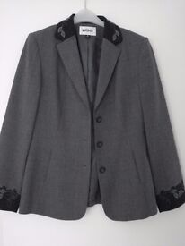 LADIES KASPER FULLY LINED TAILORED JACKET ( SIZE 12)