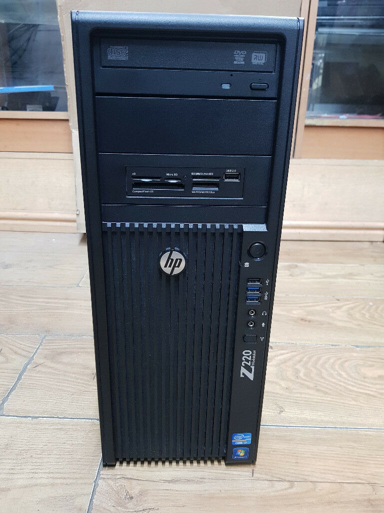 Hp Z220 Workstation Intel Core i7-3770 3 4GHz 8GB RAM 500GB HDD Win 10  Tower | in Wood Green, London | Gumtree