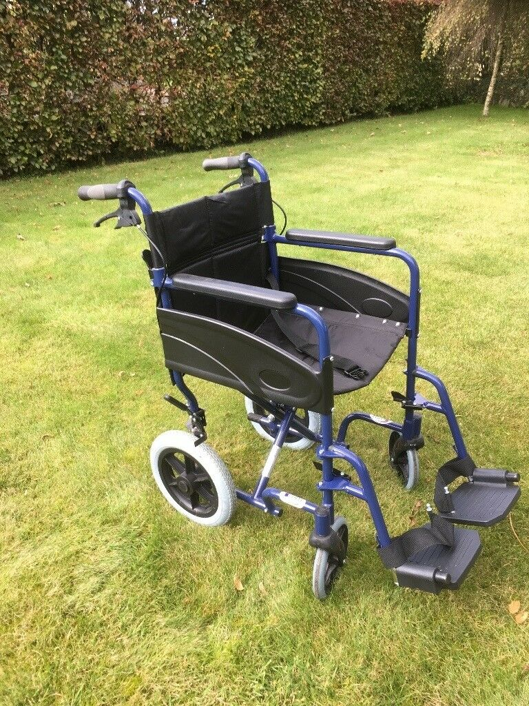 Lightweight Aidapt Wheelchair. Little used. As new condition.