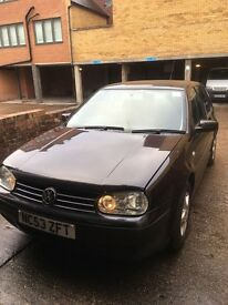 Black Metallic 2004 Automatic VW Golf