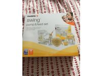 Medela Swing Pump and Feed Set