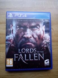 Limited edition, Lords of the fallen PS4 Edition