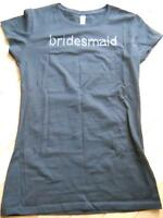 Black Bridesmaid T-shirt