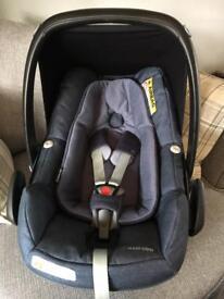 Maxi Cosi Pebble Car Seat In Blue
