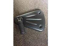 Triumph speedmaster/america foot peg mounts