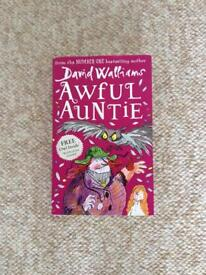 New.. kids Awful Auntie Book..