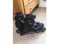 Oxelo ladies roller blades size 6.5
